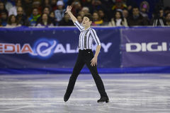 Figure skating - male athlete Stock Photo