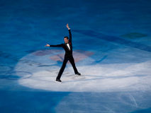 Figure Skating Olympic Gala, Evan Lysacek of USA Stock Photography
