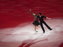 Figure Skating Olympic Gala, F. Faiella & M. Scali Royalty Free Stock Photos