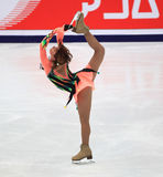 Figure Skating performance Stock Images