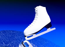 Figure skating, sports. Royalty Free Stock Photo
