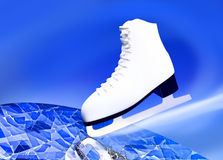 Figure skating, sports. Royalty Free Stock Photo