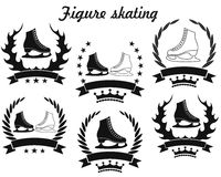 Figure skating Royalty Free Stock Photos
