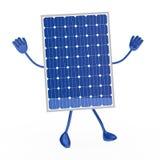 Figure solaire bleue Photographie stock