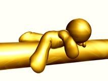 figure sommeil de graphisme Photo libre de droits