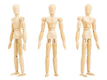 Figure standing Stock Images