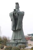 Figure storiche della Cina Immagini Stock Libere da Diritti