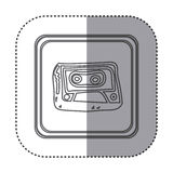 Figure symbol radio technology icon. Illustration design Stock Photo