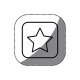 Figure symbol star icon. Illustraction design Royalty Free Stock Photography