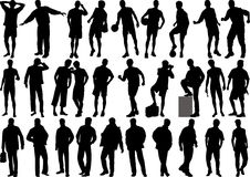 Figure umane - alta qualità Immagine Stock