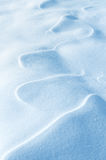 Figure vent sur la neige Image libre de droits