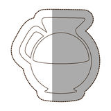 Figure water pitcher icon. Illustraction design image Stock Photo
