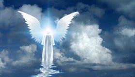 Angel`s star vector illustration