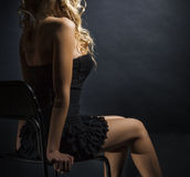 figure of a young woman Stock Photography