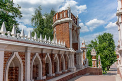 Figured bridge in the Tsaritsyno park in Moscow - 1 Stock Photography