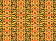 Figured element of the Baroque pattern. Color Stock Photography