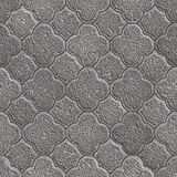 Figured Pavement. Seamless Tileable Texture. Stock Photos