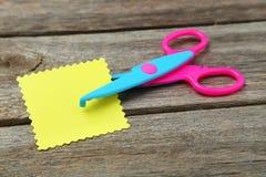 Figured scissors Royalty Free Stock Photos