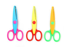 Figured scissors Stock Image