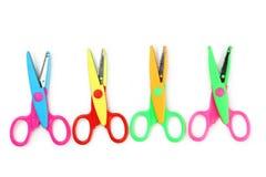 Figured scissors Royalty Free Stock Photo
