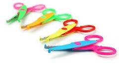 Figured scissors Royalty Free Stock Image