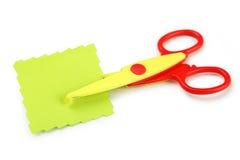 Figured scissors Royalty Free Stock Photography