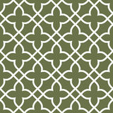 Figured seamless grating pattern - arabesque ornament Stock Image
