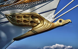 figurehead παλαιό πλέοντας σκάφος Στοκ Εικόνες