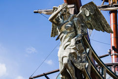 Figurehead of bulgarian ship. Varna Bulgaria Royalty Free Stock Photos