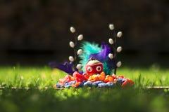 Figurehead on the grass Stock Image