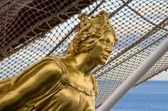Figurehead of Juan Sebastian Elcano Stock Images