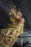 Bangkok, Thailand - August 12, 2017: Royal Barge Narai Song Suban in National Museum, Bangkok, Thaila Stock Image