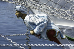Figurehead Shabab Oman Stock Photography