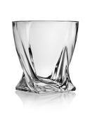 Figurerat exponeringsglas för whisky Royaltyfri Fotografi
