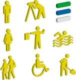 figures 3D des êtres humains Photo libre de droits