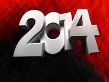 Figures 2014 Royalty Free Stock Photo