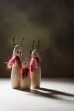 Figures animales utilisant des écharpes Image libre de droits