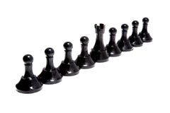 Figures of chess Stock Photos
