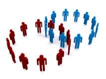 Figures en cercles Image libre de droits