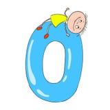 Figures et enfants Illustration de dessin animé Griffonnage de caractères Image stock