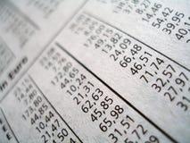 Figures financières Image libre de droits