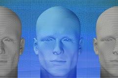 figures futuristic Arkivfoto
