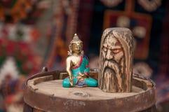 Figures of gods Stock Photo