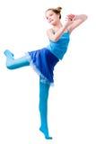 figures gymnastik Arkivfoton