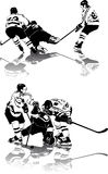 figures hockeyis Royaltyfri Fotografi