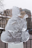 Figures from ice Stock Image