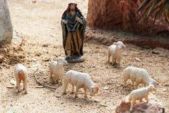 Figures représentant Noël, Espagne Image stock