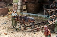 Figures représentant Noël, Espagne Images stock