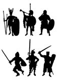 Figures of soldiers Royalty Free Stock Photos