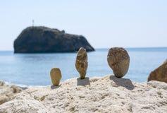 Figures from stones Stock Photo